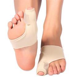JHS杰恆社穿鞋順趾墊成人拇指外翻大腳骨兒童腳指分趾器矽膠分離腳趾美形器abe61 預購