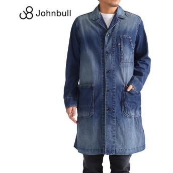 Johnbull ジョンブル ビンテージ デニムコート 12538 ショップコート メンズ