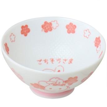 【オンワード】 Mother garden(マザーガーデン) うさもも くっつきにくい お茶碗 子ども用 花柄 0 0 キッズ