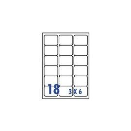裕德   U4265  電腦列印標籤18格63.5X56.6mm-100張入 / 包