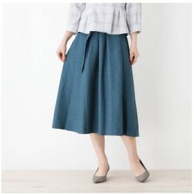 【スープ/SOUP】 【WEB限定サイズあり】ENNEA デニム風ベルテッドスカート