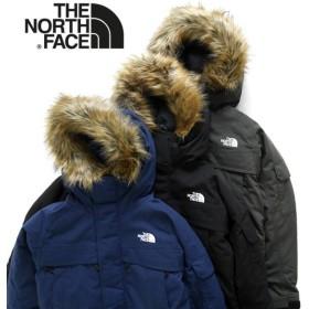 ザ ノースフェイス THE NORTH FACE マクマードパーカ ファー付き ミドル ダウンジャケット ND91734 ネイビー ブラック ピート メンズ