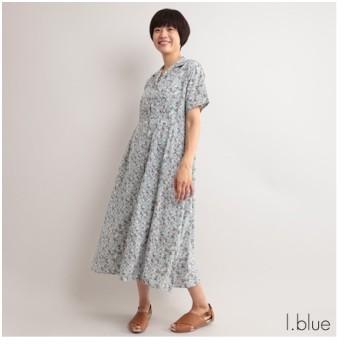 [マルイ]【セール】ペチコート付き 小花柄開襟ワンピース/フィリル(fillil)
