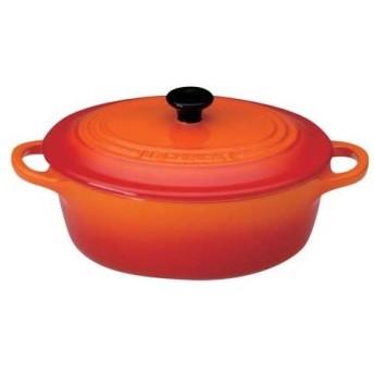 ル・クルーゼ ミニ・オーバル・ココット 910068−00 オレンジ