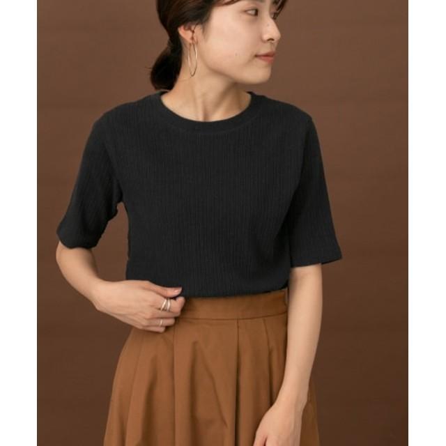 DOORS(ドアーズ) トップス Tシャツ・カットソー FORK & SPOON コットンヘンプ5分袖Tシャツ