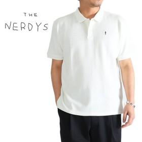 THE NERDYS ナーディーズ 鹿の子 ウディアレンポロシャツ TS7C03 半袖 メンズ