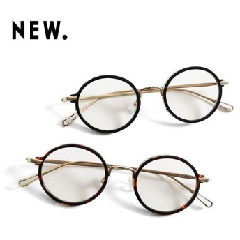 NEW. ニュー 丸メガネ BEHAN 眼鏡 伊達眼鏡 NEWMAN ニューマン メンズ レディース
