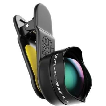 BLACK EYE(ブラックアイ) スマホ用クリップ式レンズ PRO PORTRAIT TELE G4