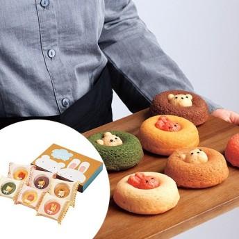 カリーノ アニマルドーナツ 6個 スイーツ 洋菓子 カワイイ くま うさぎ お取り寄せ お土産 ギフト プレゼント 特産品 名物商品 お中元 御中元 残暑見舞い