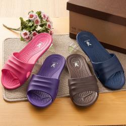 【蘿亞家居】PLAYBOY室內室外浴室萬用抗滑EVA超輕拖鞋(6雙特惠組)