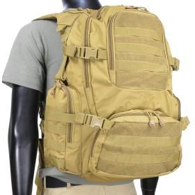 (ロスコ) ROTHCO マルチ チャンバー モール アサルトパック Multi-chamber Molle Assault Pack 〔25500〕 (コヨーテブラウン)