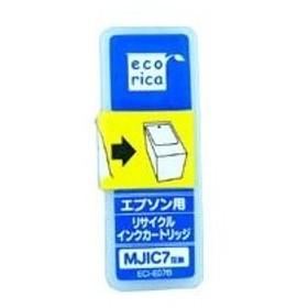 EPSON(エプソン) MJIC7対応(ブラック) リサイクルインクカートリッジ エコリカ(ecorica) ECI-E07B