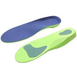 JHS杰恆社扁平足美型鞋墊男女透氣吸汗足外翻內外八字O形X型腿按摩足弓墊abe173 預購