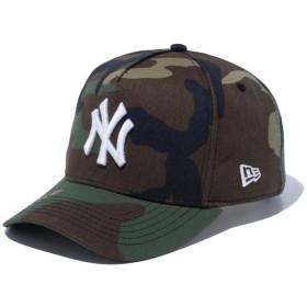 【メーカー取次】 NEW ERA ニューエラ 9FORTY D-Frame ニューヨーク・ヤンキース ウッドランドカモXホワイトロゴ 12018973 キャップ(フリーサイズ ウッドランドカモXホワイトロゴ)