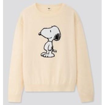 KIDS ピーナッツクルーネックセーター(長袖)
