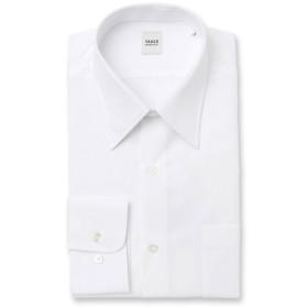 【タケオキクチ/TAKEO KIKUCHI】 【 WEB限定 】ホワイト×ホワイト ドレスシャツ