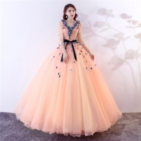 カラードレス ウェディングドレス ロングドレス 演奏会 ピアノ 発表会 成人式 ステージ衣装 大きいサイズ 舞台衣装 コンサート 結婚式 二