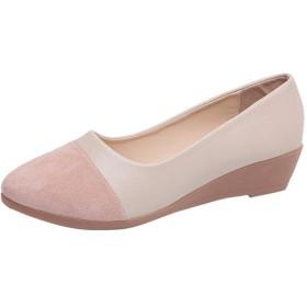 [LQQSTORE] フラットシューズ ファッション女性がカジュアルスリップオンウェッジを吸い込む自由に夏のレジャーシューズ 女性シューズ レディースシューズ 靴