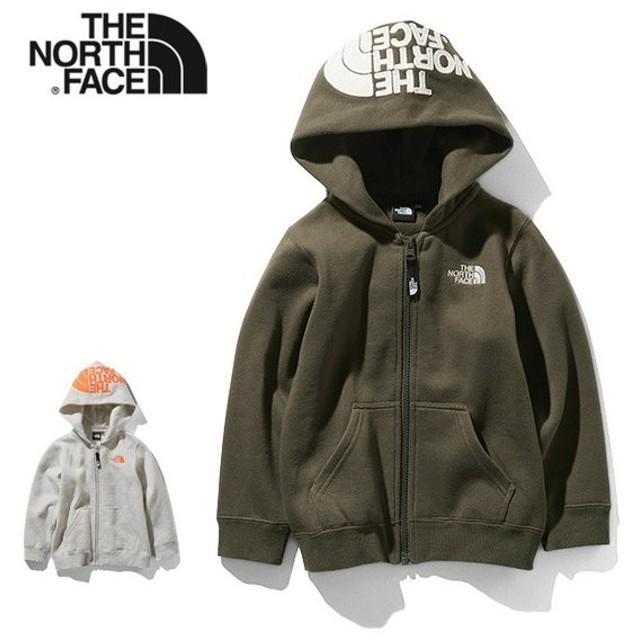 THE NORTH FACE ザ ノースフェイス リアビュー フルジップフーディー NTJ11906 スウェットパーカー キッズ ベビー