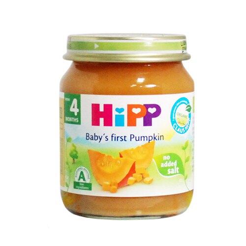 HiPP喜寶 有 機南瓜泥125g(買一送一)效期至2019/10/31★衛立兒生活館★