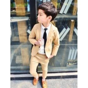 男の子スーツ フォーマル キッズ ベビー  韓國子供服 2點セット ピアノ発表會 結婚式 七五三 入園式 卒園式 入學式 卒業式