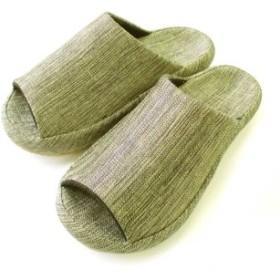 足裏フィットで気持ちいいスリッパ 3Dコンフォート グリッター玉虫色 フェリシモ FELISSIMO【送料:450円+税】