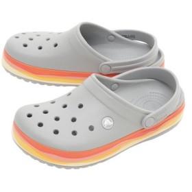 クロックス(crocs) CROCBAND WAVY BAND CLOG #205573-0ES (Men's、Lady's)