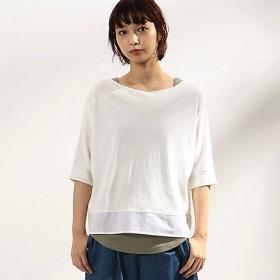 <COMME CA ISM (レディース)>【EC/一部店舗限定カラー】ロゴプリント セットTシャツ(ONIGIRI)(5236CN80) 01【三越・伊勢丹/公式】