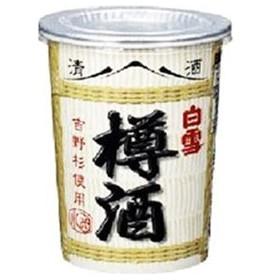 白雪 樽酒 カップ 180ml x6