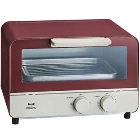 ブルーノ オーブントースター レッド BOE052-RD