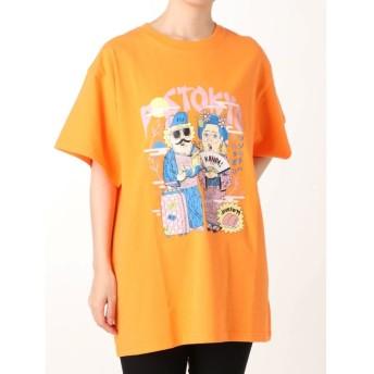 ジュエティ TMpaint Tシャツ レディース オレンジ M 【jouetie】