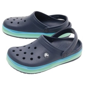 クロックス(crocs) CROCBAND WAVY BAND CLOG #205573-4HQ (Men's、Lady's)
