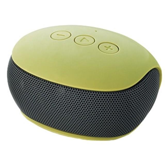 Bluetoothモノラルスピーカー/スマホ用/コンパクト/グリーン LBT-SPP20GN