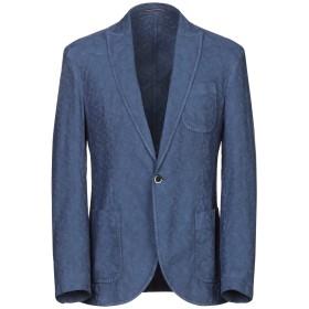 《期間限定セール開催中!》RODA メンズ テーラードジャケット ブルー 46 コットン 62% / 麻 38%