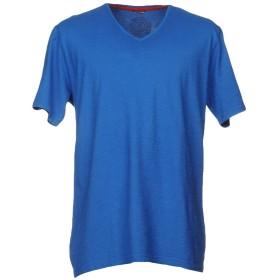 《セール開催中》DANIELE ALESSANDRINI メンズ T シャツ ブライトブルー S 100% コットン
