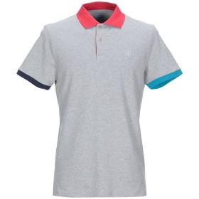 《期間限定セール開催中!》AT.P.CO メンズ ポロシャツ グレー M コットン 95% / ポリウレタン 5%