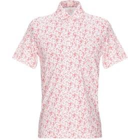 《期間限定 セール開催中》ALTEA メンズ ポロシャツ レッド M コットン 100%