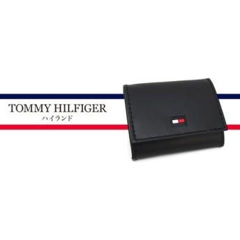 【TOMMY HILFIGER】すっきりとした表情がどんなスタイルにもマッチ。デザイン性と機能性を兼ね備えたスタイリッシュなコインケース《ハイランド》 メンズ雑貨 財布 au WALLET Market