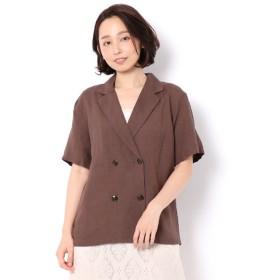 【アパートバイローリーズ/apart by lowrys】 RyLiダブルジャケットシャツ