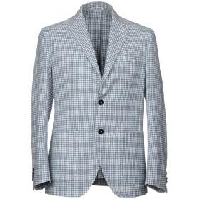 《期間限定セール開催中!》ALTEA メンズ テーラードジャケット パステルブルー 46 コットン 53% / ナイロン 18% / ウール 16% / 麻 13%