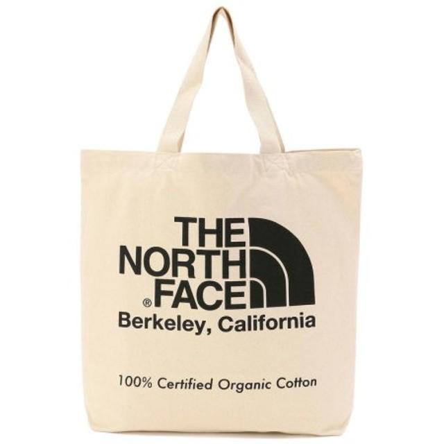 (UNCUT BOUND/アンカットバウンド)THE NORTH FACE (ノースフェイス)TNF Organic Cotton ToteBag オーガニックコットントート/メンズ BLACK