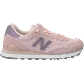 《セール開催中》NEW BALANCE レディース スニーカー&テニスシューズ(ローカット) ピンク 6 革 / 紡績繊維