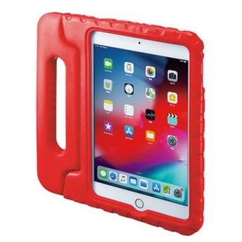 iPad mini 2019 衝撃吸収ケース レッド PDA-IPAD1405R