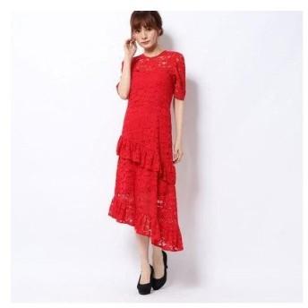 ハニーミーハニー HONEY MI HONEY heart lace one-piece/ハートレースワンピース (red)