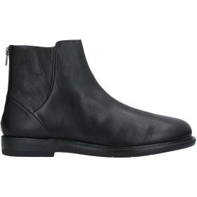 《セール開催中》BOEMOS メンズ ショートブーツ ブラック 45 革