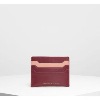 マルチシェイド カードホルダー / Multi-shade Card Holder (Prune)