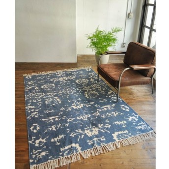 【ジャーナル スタンダード ファニチャー/journal standard Furniture】 REVERSIBLE PRINTED RUG 140200
