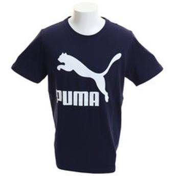 【Super Sports XEBIO & mall店:トップス】CLASSICS ロゴ 半袖Tシャツ 595870 06 NVY