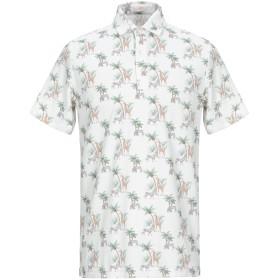 《期間限定セール開催中!》ALTEA メンズ ポロシャツ ホワイト M コットン 100%