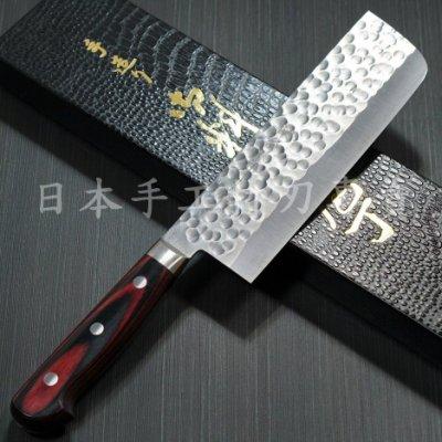 [國際直送]越前金太郎 菜切KA206日本手工菜刀 粉末鋼SG2/R2 薄刃 165mm